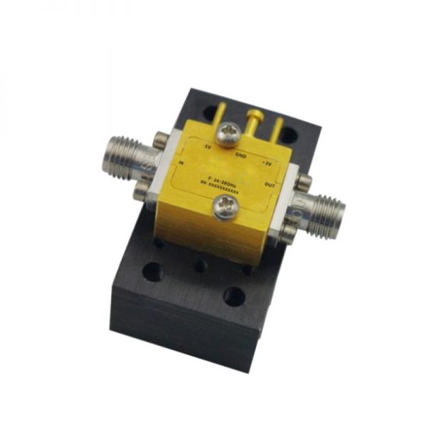 Ultra Wide Band Low Noise Amplifier From 24GHz to 28GHz With a Nominal 24dB Gain NF 3.3dB 2.92mm Connectors