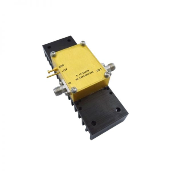 Ultra Wide Band Low Noise Amplifier From 16GHz to 33GHz With a Nominal 30dB Gain NF 2.5dB 2.92mm Connectors