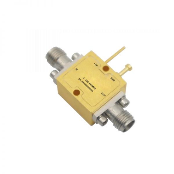 Ultra Wide Band Low Noise Amplifier From 0.18GHz to 0.66GHz With a Nominal 24dB Gain NF 0.5dB SMA Connectors