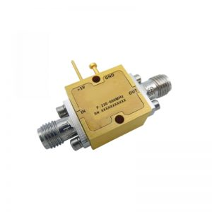 Ultra Wide Band Low Noise Amplifier From 0.23GHz to 0.66GHz With a Nominal 23dB Gain NF 0.6dB SMA Connectors