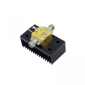 Ultra Wide Band Low Noise Amplifier From 4.8GHz to 6GHz With a Nominal 16dB Gain NF 1.1dB SMA Connectors