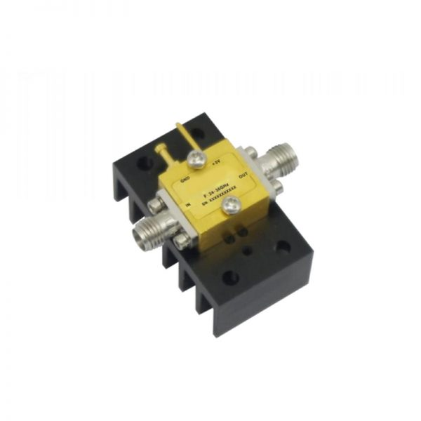 Ultra Wide Band Low Noise Amplifier From 24GHz to 36GHz With a Nominal 19dB Gain NF 2.5dB 2.92mm Connectors