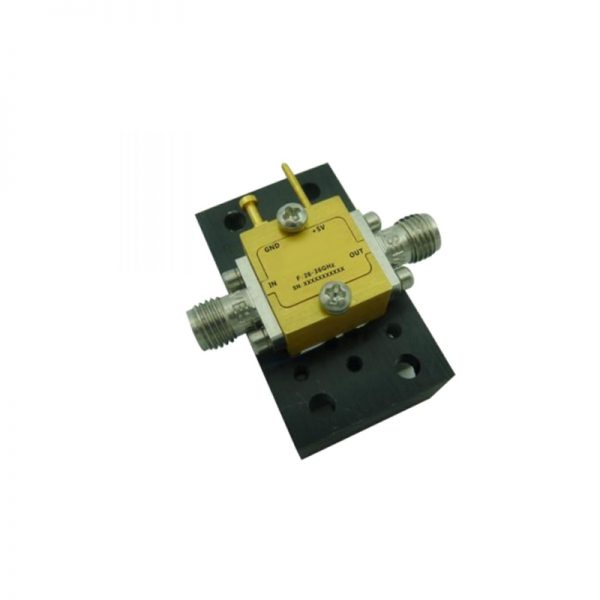 Ultra Wide Band Low Noise Amplifier From 28GHz to 36GHz With a Nominal 20dB Gain NF 2.5dB 2.92mm Connectors