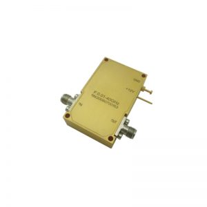 Ultra Wide Band Low Noise Amplifier From 0.01GHz to 40GHz With a Nominal 25dB Gain NF 6.5dB 2.92mm Connectors