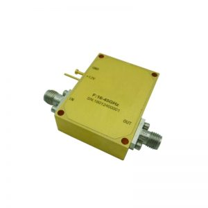 Ultra Wide Band Low Noise Amplifier From 16GHz to 45GHz With a Nominal 38dB Gain NF 4.5dB 2.92mm Connectors