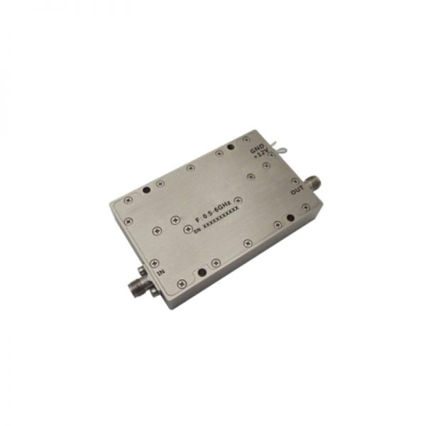 Ultra Wide Band Low Noise Amplifier From 0.5GHz to 6GHz With a Nominal 33dB Gain NF 2.5dB SMA Connectors