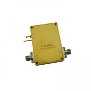 Ultra Wide Band Low Noise Amplifier From 18GHz to 40GHz With a Nominal 40dB Gain NF 5.5dB 2.92mm Connectors