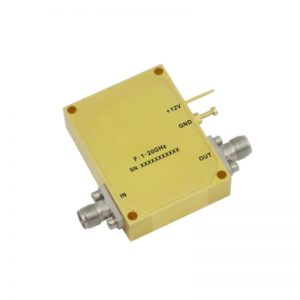 Ultra Wide Band Low Noise Amplifier From 1GHz to 20GHz With a Nominal 30dB Gain NF 9dB SMA Connectors