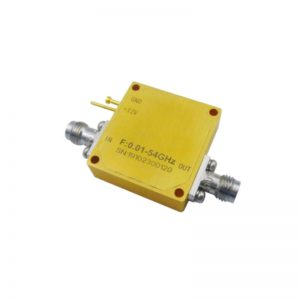 Ultra Wide Band Low Noise Amplifier From 0.01GHz to 54GHz With a Nominal 36dB Gain NF 4dB 2.4mm Connectors
