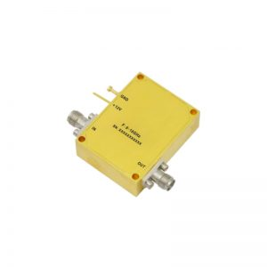 Ultra Wide Band Low Noise Amplifier From 6GHz to 18GHz With a Nominal 39dB Gain NF 2.5dB SMA Connectors