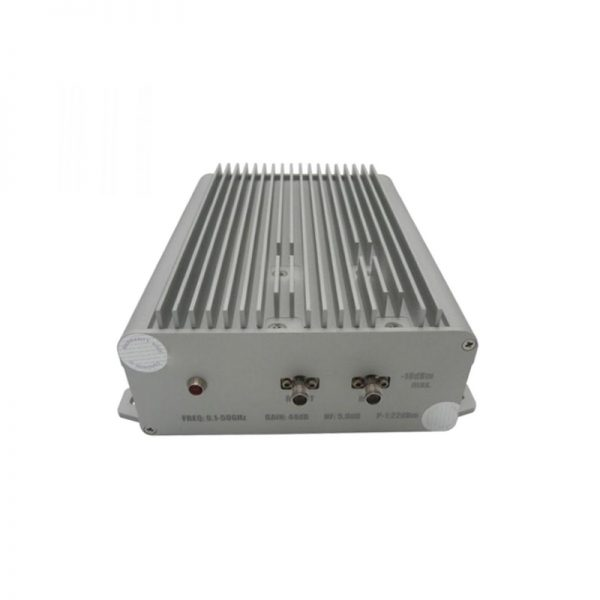 Ultra Wide Band Low Noise Amplifier From 0.1GHz to 50GHz With a Nominal 38dB Gain NF 4.5dB 2.4mm Connectors