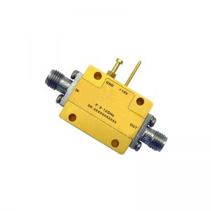 Ultra Wide Band Low Noise Amplifier From 8GHz to 12GHz With a Nominal 51dB Gain NF 1.3dB SMA Connectors