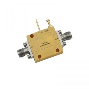 Ultra Wide Band Low Noise Amplifier From 4GHz to 8GHz With a Nominal 48dB Gain NF 1dB SMA Connectors