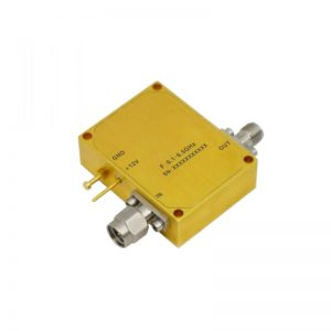 Ultra Wide Band Low Noise Amplifier From 0.1GHz to 15GHz With a Nominal 31dB Gain NF 4dB SMA-M/F Connectors