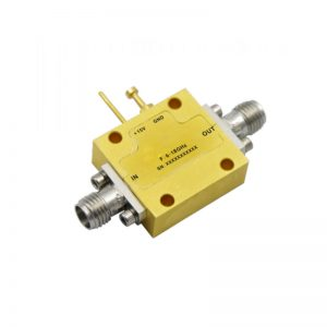Ultra Wide Band Low Noise Amplifier From 0.1GHz to 18GHz With a Nominal 32dB Gain NF 2.5dB SMA Connectors