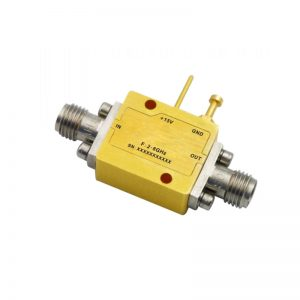 Ultra Wide Band Low Noise Amplifier From 2GHz to 8GHz With a Nominal 32dB Gain NF 0.8dB SMA Connectors