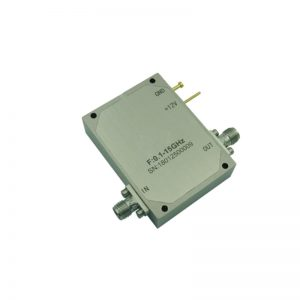 Ultra Wide Band Low Noise Amplifier From 0.1GHz to 15GHz With a Nominal 45dB Gain NF 2dB SMA Connectors