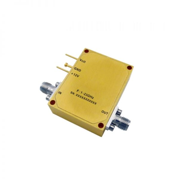 Ultra Wide Band Low Noise Amplifier From 1GHz to 23GHz With a Nominal 33dB Gain NF 2.5dB SMA Connectors
