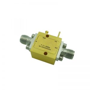 Ultra Wide Band Low Noise Amplifier From 0.1GHz to 20GHz With a Nominal 20dB Gain NF 3.5dB SMA Connectors