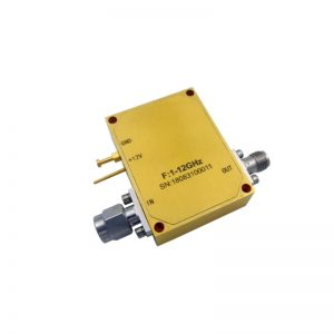 Ultra Wide Band Low Noise Amplifier From 1GHz to 12GHz With a Nominal 35dB Gain NF 1.8dB SMA-M/F Connectors