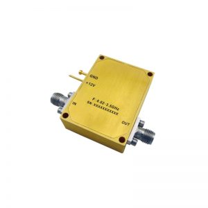 Ultra Wide Band Low Noise Amplifier From 0.02GHz to 3.5GHz With a Nominal 32dB Gain NF 1.3dB SMA-Female Connectors