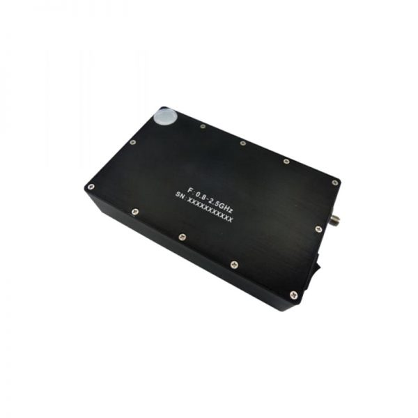 Ultra Wide Band Low Noise Amplifier From 0.8GHz to 2.5GHz With a Nominal 60dB Gain NF 0.8dB SMA-Female Connectors