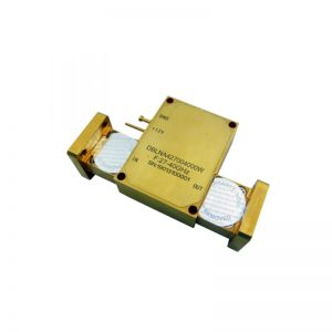 Ultra Wide Band Low Noise Amplifier From 27GHz to 40GHz With a Nominal 35dB Gain NF 3dB WR28 Connectors
