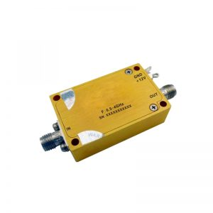 Ultra Wide Band Low Noise Amplifier From 0.5GHz to 4GHz With a Nominal 32dB Gain NF 0.8dB SMA-Female Connectors