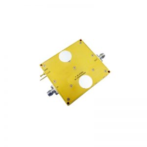 Ultra Wide Band Low Noise Amplifier From 3.3GHz to 4.9GHz With a Nominal 60dB Gain NF 1.6dB WR229/N-F Connectors