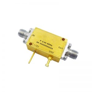Ultra Wide Band Low Noise Amplifier From 0.05GHz to 20GHz With a Nominal 27dB Gain NF 2.5dB SMA Connectors