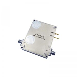 Ultra Wide Band Low Noise Amplifier From 0.5GHz to 20GHz With a Nominal 59dB Gain NF 2.5dB SMA-F Connectors