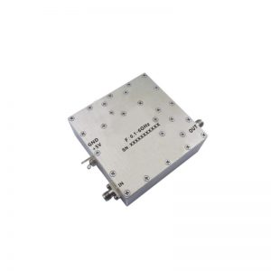 Ultra Wide Band Low Noise Amplifier From 0.1GHz to 6GHz With a Nominal Pout-PindB Gain NF N/AdB SMA-Female Connectors