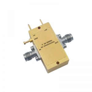 Ultra Wide Band Low Noise Amplifier From 30GHz to 65GHz With a Nominal 20dB Gain NF dB 1.85mm-F Connectors