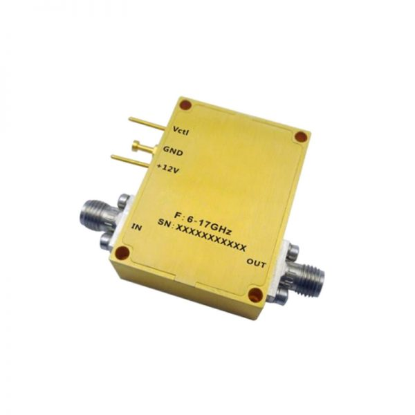 Ultra Wide Band Low Noise Amplifier From 6GHz to 17GHz With a Nominal 40dB Gain NF 2dB SMA Connectors