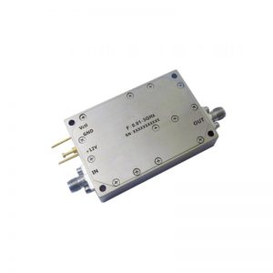 Ultra Wide Band Low Noise Amplifier From 0.01GHz to 3GHz With a Nominal 54dB Gain NF 1.5dB SMA Connectors