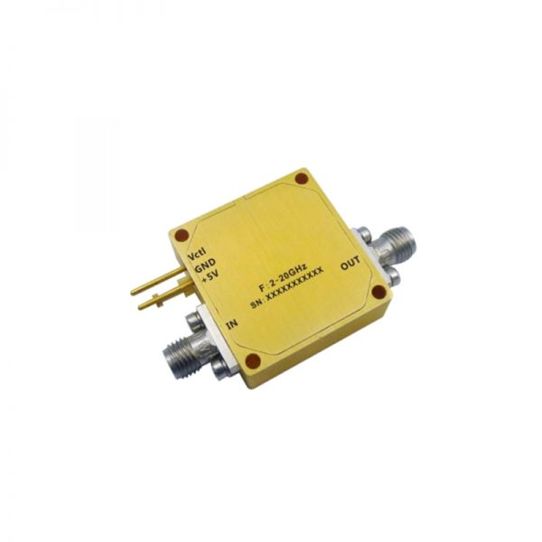 Ultra Wide Band Low Noise Amplifier From 2GHz to 20GHz With a Nominal 17.5dB Gain NF 3dB SMA Connectors