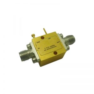 Ultra Wide Band Low Noise Amplifier From 0.01GHz to 20GHz With a Nominal 15dB Gain NF 2.5dB SMA Connectors
