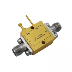 Ultra Wide Band Low Noise Amplifier From 5GHz to 12GHz With a Nominal 28dB Gain NF 1.5dB SMA Connectors