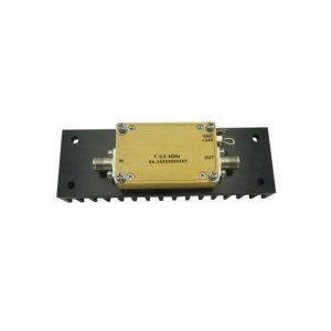 Ultra Wide Band Low Noise Amplifier From 0.5GHz to 4GHz With a Nominal 29dB Gain NF 1.5dB SMA Connectors