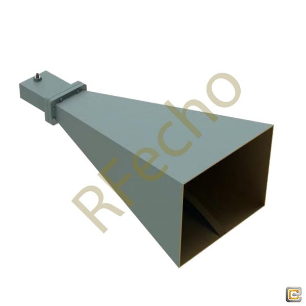 The broadband horn antennas cover the frequency range from 0.1GHz - 40GHz with the gain from 4 dBi - 20 dBi VSWR is