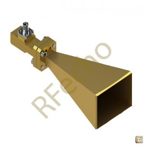 15 dBi Gain, 18 GHz to 50 GHz Broadband Horn Antenna