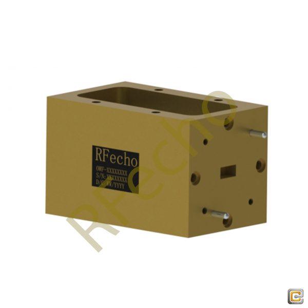 30GHz to 50GHz Q Band Waveguide Bandpass Filter, Microwave Bandpass Filter
