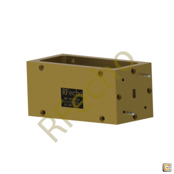 34GHz to 67GHz U Band Waveguide Bandpass Filter, Microwave passive Bandpass Filter