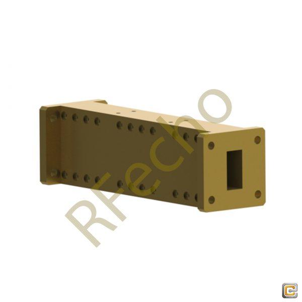 RF Low Pass Filter, WR-75 Waveguide low pass Filter