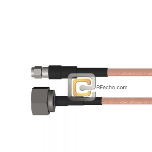 SMA Male to N Male RG-142 Coax and RoHS F061-321S0-291S0-125-N