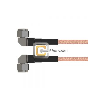 Right Angle N Male to Right Angle N Male RG-214 Coax and RoHS F063-291R0-291R0-110-N