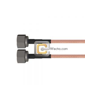 N Male to N Male RG-223 Coax and RoHS F064-291S0-291S0-110-N