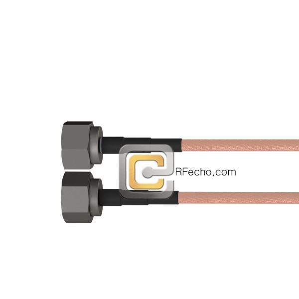 7-16 DIN Male to N Male RG-393 Coax and RoHS F067-201S0-291S0-75-N