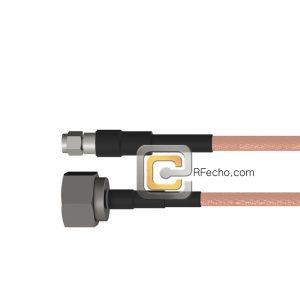 N Male to SMA Male RG-58 Coax and RoHS F070-291S0-321S0-50-N