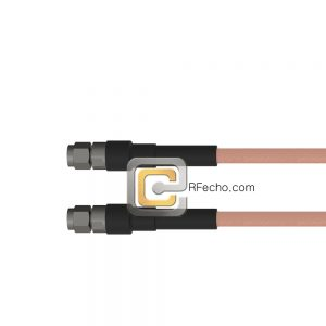 SMA Male to SMA Male RG-58 Coax and RoHS F070-321S0-321S0-50-N